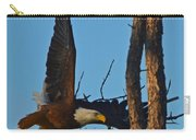 American Bald Eagle I Mlo Carry-all Pouch
