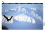 American Bald Eagle In Flight Carry-all Pouch