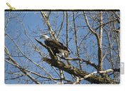 American Bald Eagle In Illinois Carry-all Pouch