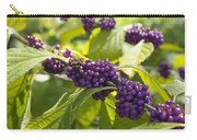 American Beautyberry -callicarpa Americana Carry-all Pouch