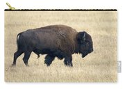 American Bison Bull Grand Teton Np Carry-all Pouch