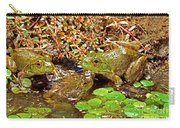 American Bullfrogs Rana Catesbeiana Carry-all Pouch