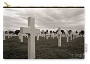American Cemetery In Normandy  Carry-all Pouch