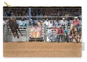 American Cowboy Bucking Rodeo Bronc Carry-all Pouch