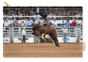 American Cowboy Riding Bucking Rodeo Bronc I Carry-all Pouch