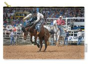 American Cowboy Riding Bucking Rodeo Bronc II Carry-all Pouch