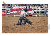 American Cowboy Thrown From A  Bucking Rodeo Bronc Carry-all Pouch
