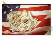 American Currency  Carry-all Pouch by Les Cunliffe