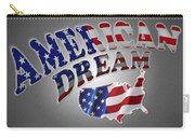 American Dream Digital Typography Artwork Carry-all Pouch