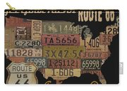 American Dream-route 66 Carry-all Pouch