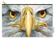 American Eagle - Bald Eagle By Betty Cummings Carry-all Pouch by Sharon Cummings