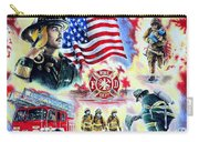 American Firefighters Carry-all Pouch by Andrew Read