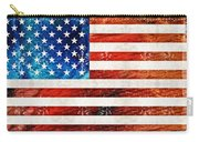 American Flag Art - Old Glory - By Sharon Cummings Carry-all Pouch
