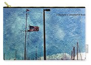 American Flag As A Painting Carry-all Pouch