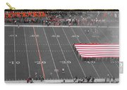 American Flag At Paul Brown Stadium Carry-all Pouch by Dan Sproul