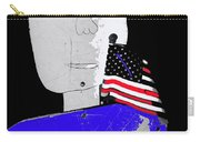 American Flag Collage Tucson Arizona Mid 1980's-2013 Carry-all Pouch