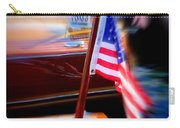American Flag Focus Carry-all Pouch