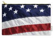 American Flag Carry-all Pouch by Jill Lang