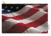 American Flag Carry-all Pouch by Jon Neidert