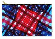 American Flag Kaleidoscope Carry-all Pouch