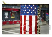 American Flag Tiles Carry-all Pouch