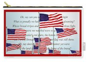 American Flag Tribute  Carry-all Pouch
