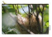 American Goldfinch Nest Under Construction Carry-all Pouch