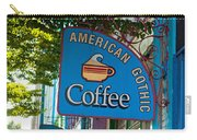 American Gothic Coffee Carry-all Pouch