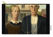 American Gothic Duvet Carry-all Pouch