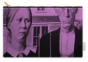 American Gothic In Pink Carry-all Pouch