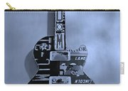 American Guitar In Cyan Carry-all Pouch