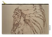American Horse - Oglala Sioux Chief - 1880 Carry-all Pouch
