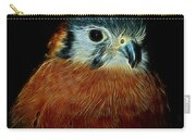American Kestrel Digital Art Carry-all Pouch