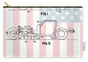 American Made Corvette Patent Carry-all Pouch