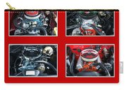 American Muscle Red Poster Carry-all Pouch
