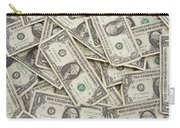 American One Dollar Bills Carry-all Pouch