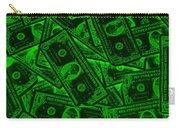 American One Dollar Bills Pop Art Carry-all Pouch