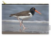 American Oystercatcher On Beach Carry-all Pouch