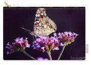 American Painted Lady Butterfly Purple Background Carry-all Pouch