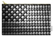 American Pastime In Black And White Carry-all Pouch