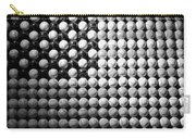 American Pastime In Black And White1 Carry-all Pouch