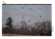 American Pelican Fly-over Carry-all Pouch