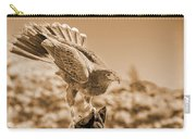 American Red Tail Hawk Carry-all Pouch