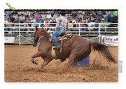 American Rodeo Female Barrel Racer White Blaze Chestnut Horse IIi Carry-all Pouch