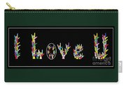 American Sign Language I Love U   Carry-all Pouch