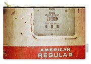 American Standard - Vintage Fuel Pump - Casper Wyoming Carry-all Pouch