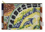 American Statue Of Liberty Mosaic  Carry-all Pouch