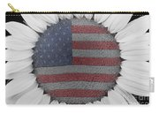 American Sunflower Power Carry-all Pouch
