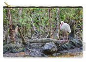 American White Ibis Carry-all Pouch