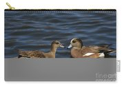 American Widgeon Pair Carry-all Pouch